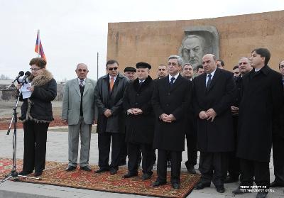Серж Саргсян поехал в марз Ширак.