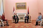 Президент Латвии завершил официальный визит в Армению.