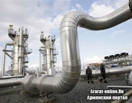 Поставка российского газа в Армению