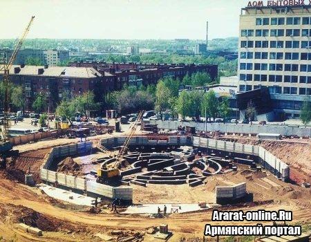 В Ереване заложен фундамент нового цирка
