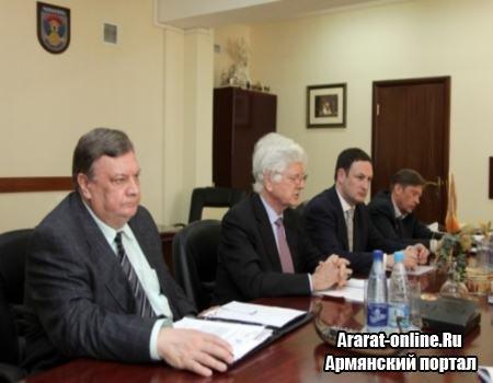 О встрече министра обороны с ОБСЕ
