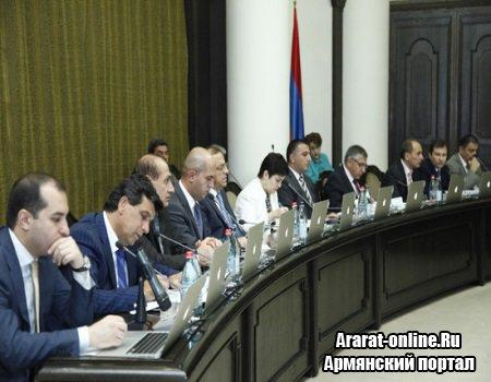 Правительство Армении повышает пенсии