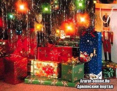 Новый Дед Мороз Еревана или сюрприз детям