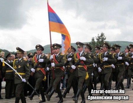 Праздник в честь Дня Армянской Армии