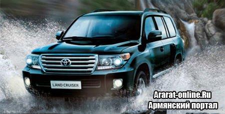 Новый внедорожник Toyota Land Cruiser 200