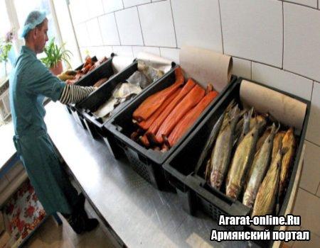Рыба в Армении может подорожать