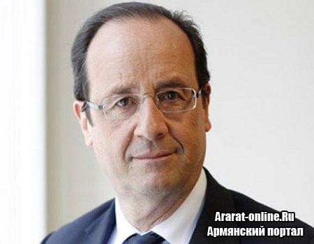 В Армению едет президент Франции