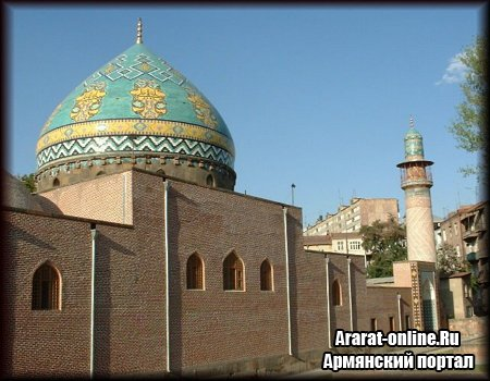Армяне хотят включить Голубую мечеть в список UNESCO