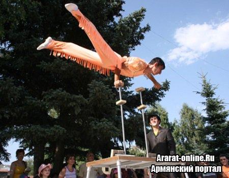 Фестиваль пантомимы пройдет в Цахкадзоре