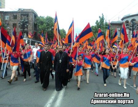 В Армении празднуют День Республики