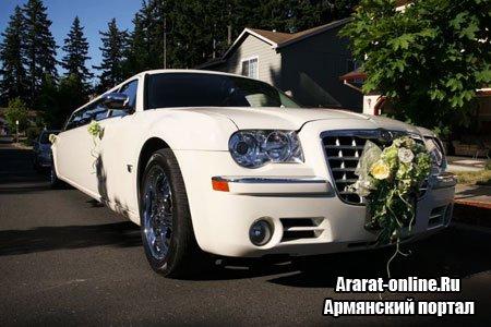 Виды лимузинов. Заказ лимузина на свадьбу