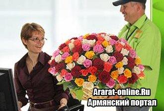 Цветы с доставкой - лучший подарок для любой женщины