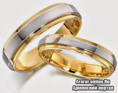 Желтый и белый металл для кольца