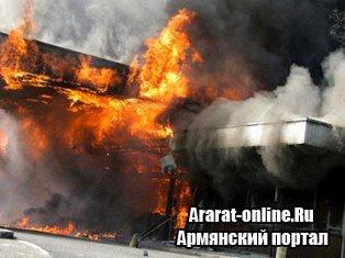 В Армении произошел взрыв на газозаправочной станции