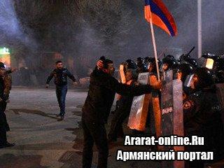 В США недовольны ситуацией в Армении