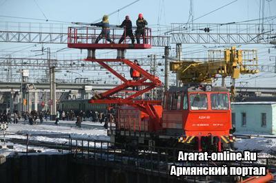 Между Арменией и Китаем идут обсуждения строительство железной дороги Иран-Армения