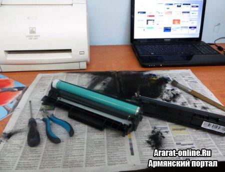 Заправка и восстановление картриджа лазерного принтера