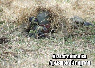 Спецподготовка российских снайперов в Армении: ведение боя в экстремальных условиях