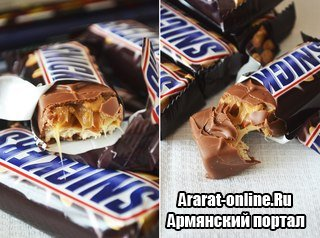� ����������� ��������� �������� Snickers � ������ ��������